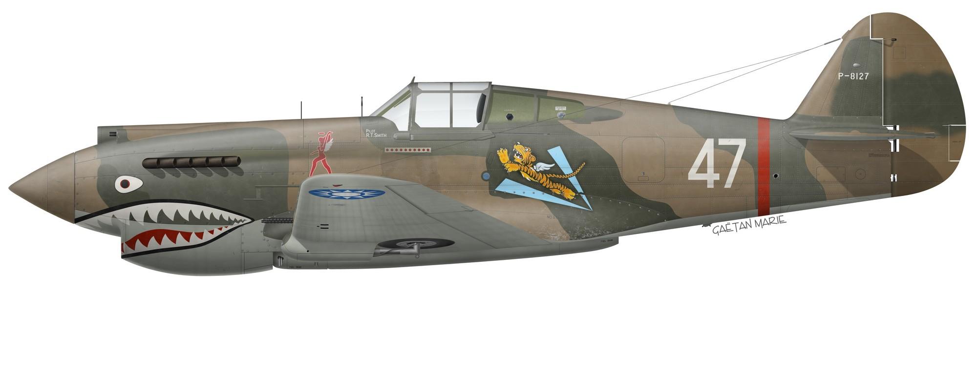 Jean Demozay Print Spitfire Mk Vb Royal Air Force par G. Marie No 91 Sqdn