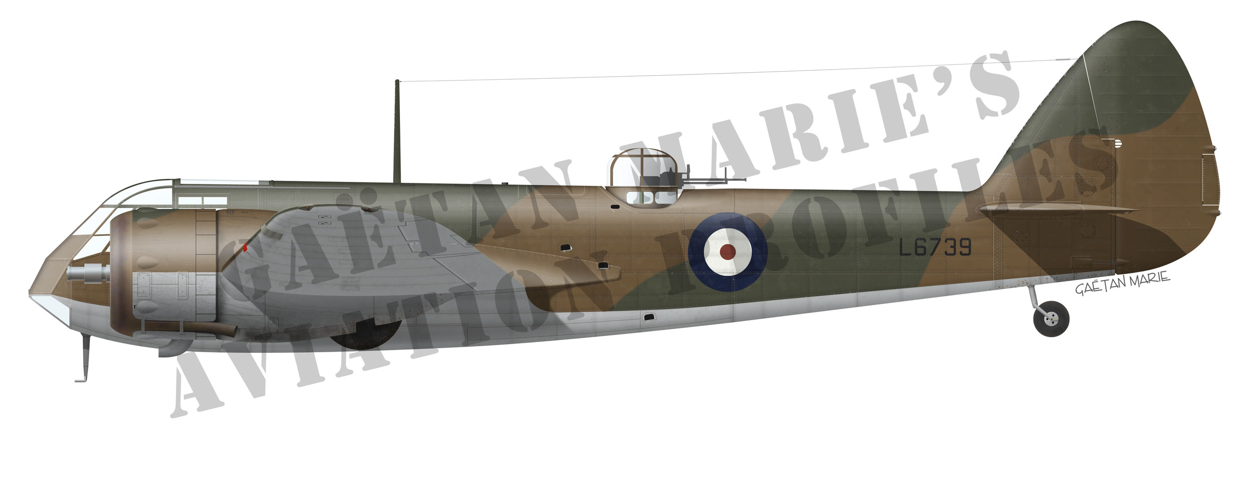 AAA-Blenheim-Mk-IF-port-model