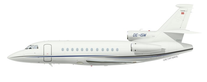 Austria, Falcon 900DX No 617, OE-ISM