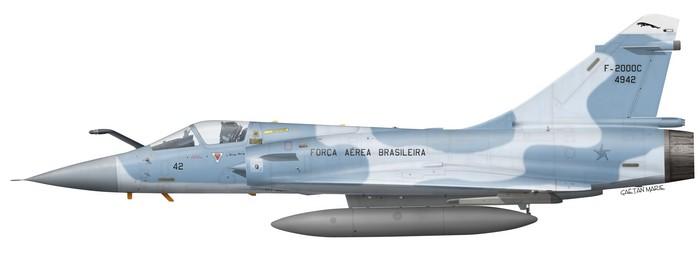 Brazil, F-2000C No 4942, 1 Grupo de Defesa Aerea