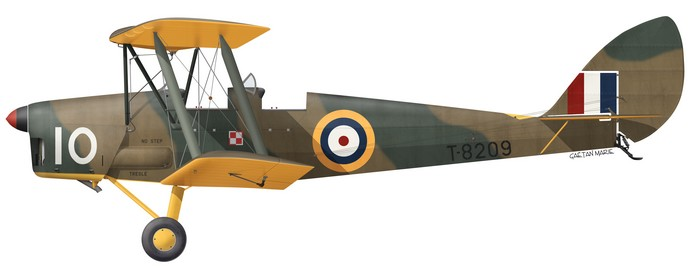 DH.82 Tiger Moth, T8209, Polish Aviation Museum, Cracow