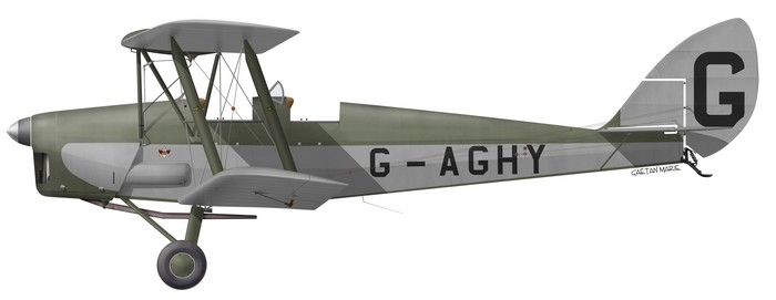 DH.82A Tiger Moth, G-AGHY