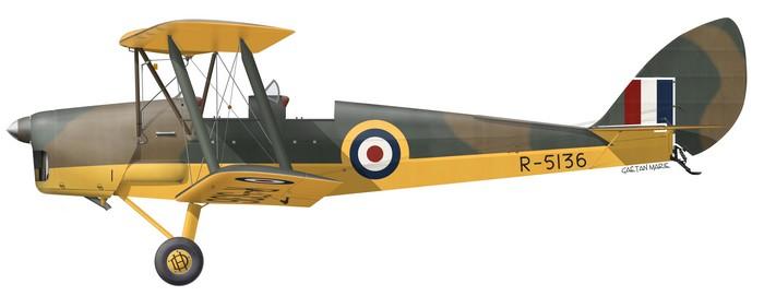 DH.82A Tiger Moth, G-APAP, R-5136