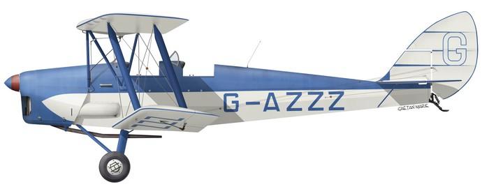 DH.82A Tiger Moth, G-AZZZ