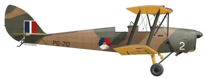 DH.82A Tiger Moth, RNLAF, PG-712