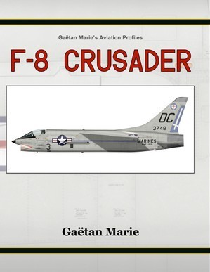 F-8 Crusader by Gaetan Marie - cover
