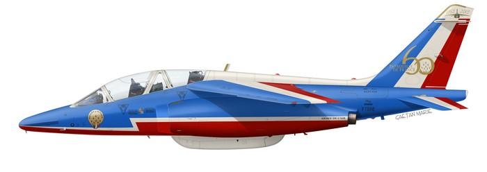France, Alpha Jet E165, 60 ans de la PAF