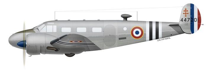 France, C-45F, 44-47201, 1944