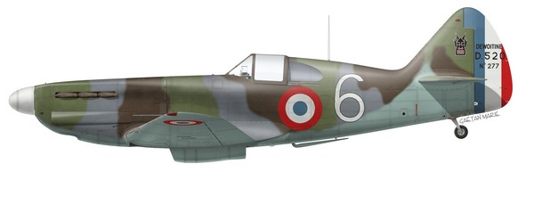 France, D.520 No 277, ADC Pierre Le Gloan, GC III-6, 15 mai 1940