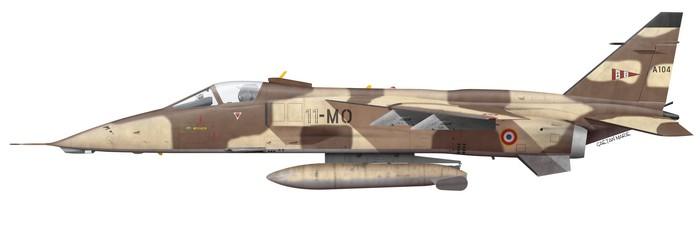 France, Jaguar A 104, 11-MO, EC 2~11 Vosges