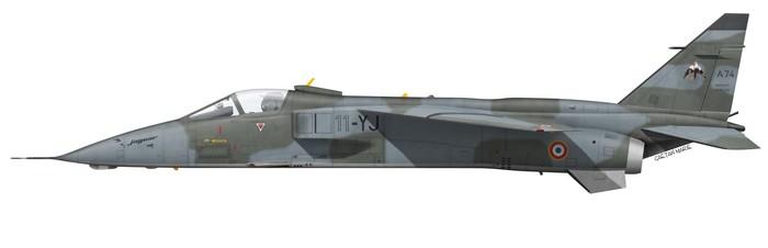 France, Jaguar A 74, 11-YJ, EC 4~11 Jura
