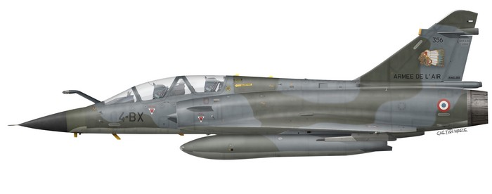 France, Mirage 2000N No 356, EC 2~4 Lafayette