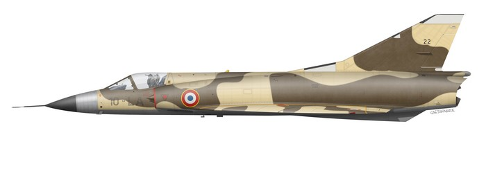 France, Mirage IIIC No 22, EC 3-10 Vexin, 1978