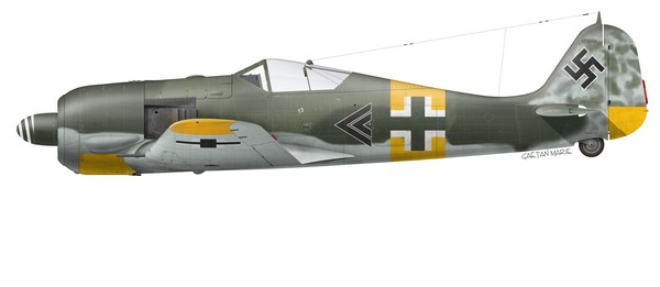 Germany, Fw 190A-6, WNr 470004, Hpt Walter Nowotny, I~JG 54, September 1943