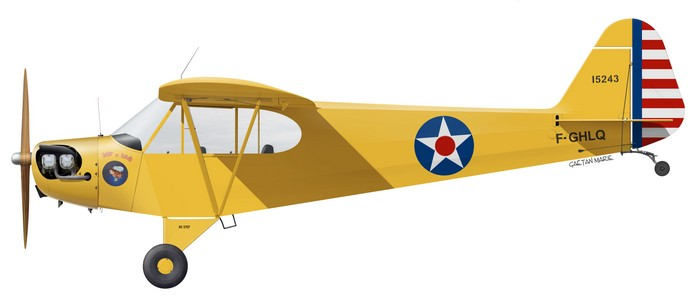 J-3C Cub F-GHLQ