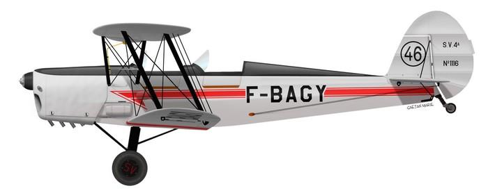 Stampe SV.4A, F-BAGY