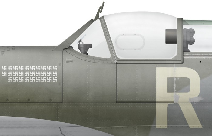 UK, Spitfire Mk Vb, BL336, Robert Stanford-Tuck, Biggin Hill Wing, 28 Jan 1942 -d