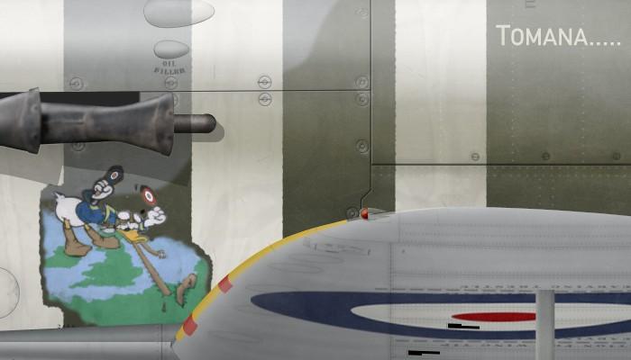 UK, Spitfire Mk Vb, BM324, Wg Cdr Bernard Duperier, No 340 Squadron -d