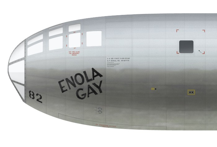 US, 44-86292, B-29-45-MO, Enola Gay, 393 BS, 509 CG -d