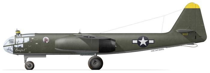 US, Ar 234B-2, Snafu I, Melun, 1945
