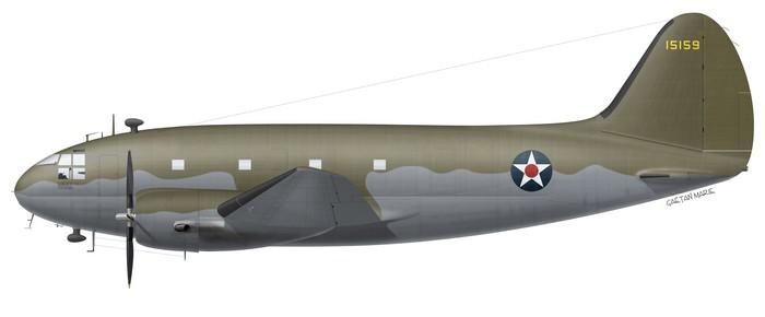US, C-46A-CU, 41-5159, 1942