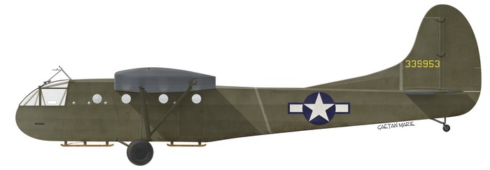 US, CG-4A-FO, 43-39953, 101st Airborne Division, Market Garden
