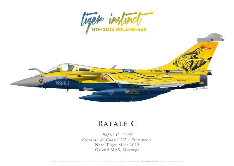 GM-477 - France, Rafale C107, EC 1-7 Provence, NTM 2013 Orland 1
