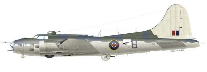 Boeing Fortress Mk IIA FK202, No 59 Squadron, Throney Island, January 1943