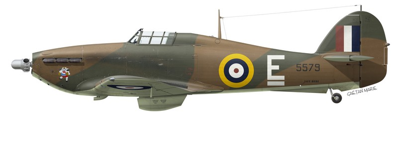 Hawker Hurricane Mk XII 5579, No 135 Squadron RCAF, 1943