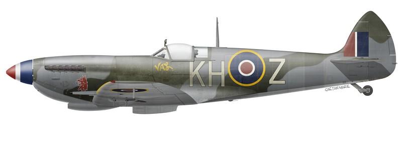 RCAF, Spitfire Mk XVIe TB752 du No 403 Squadron, avril 1945