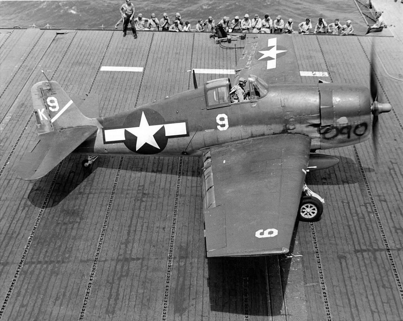 """F6F-3 Hellcat BuNo 40090 """"White 9"""""""