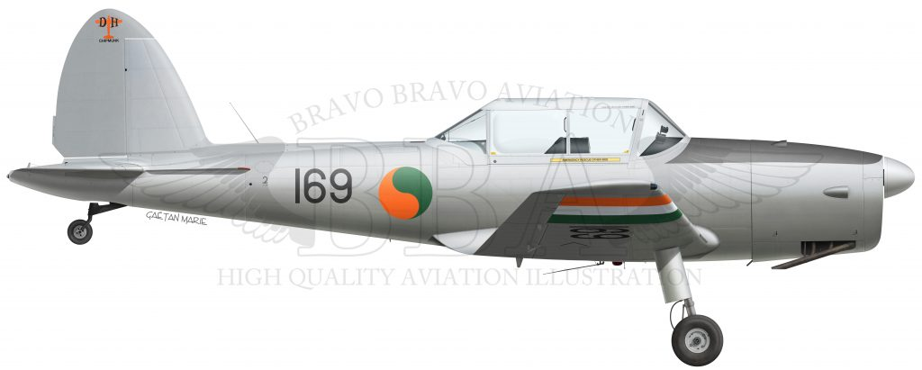 Ireland, Chipmunk T.10 WD305, EI-HFB, Irish Historic Flight, 2016