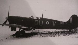 Spitfire Mk Vb W3652 Presentation 'Blue Charm'