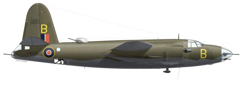Martin Marauder Mk II FB431, No 12 Squadron SAAF, Biferno, Italie, printemps 1944