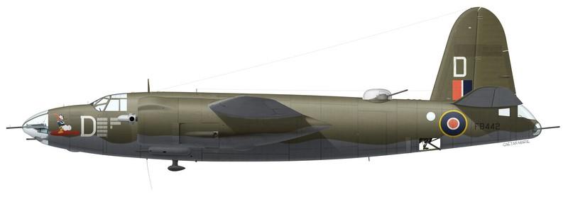 Martin Marauder Mk II FB442, No 12 Squadron SAAF, Pescara, Italie, été 1944
