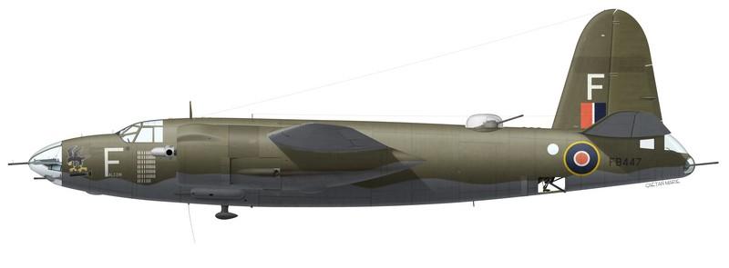 "Martin Marauder Mk II FB447 ""Falcon"", No 12 Squadron SAAF, Pescara, Italie, été 1944"