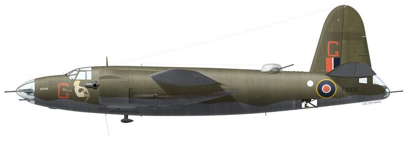 "Martin Marauder Mk II FB451 ""Gloria"", No 12 Squadron SAAF, Biferno, Italie, printemps 1944"