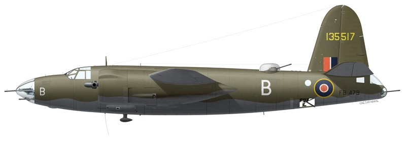 Martin Marauder Mk II FB479, No 24 Squadron SAAF, Tortorella, Italie, février 1944